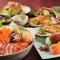コストパフォーマンス抜群のお勧めコース!飲み放題と料理長自慢の創作和食の数々。