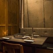 プライベートな空間で、周りを気にせずお食事をお楽しみ頂けます。