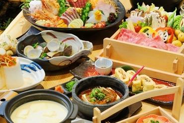 季節の食材と旬の鮮魚が楽しめる各コースはオススメです