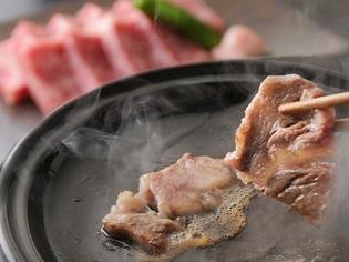 肉料理もお楽しみください。