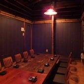 掘りごたつ式の個室もあります