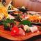 季節のお料理 & 2時間飲放題付の人気のご宴会コースは、お一人様4500円!!3名様~前日まで要予約。
