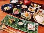 豆腐と野菜の懐石コース(追手筋店限定)、おまかせコース、季節のコース 等の全5種のコース