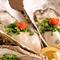 一年を通じて鮮度抜群の『生牡蠣』を楽しめます