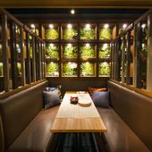 【大人の秘密基地】オシャレな雰囲気の隠れ家個室空間
