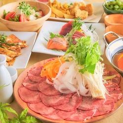 【女性限定】お野菜とお肉・お魚のバランス抜群 和食でヘルシーに美食女子会はいかがですか?