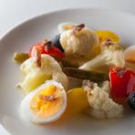 爽やかな酸味が際立つ『ナポリ風カリフラワーのサラダ』