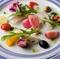 青魚と野菜のマリネ リンフォルツォ風