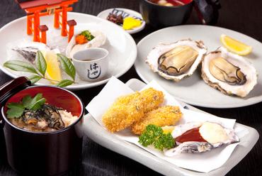 かきを贅沢に味わい尽くす『かき三景定食』