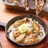 広島名産の牡蠣をバター焼きで。やみつきになる『牡蠣バター』