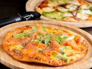 通常のピザと比べて、糖質約80%オフ。美味しさにも妥協せず、生地のレシピにとことんこだわりました。