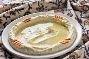 ひよこ豆から2日がかりで作る『フムス』