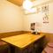 落ち着いた雰囲気の個室で和食を堪能しながらデート