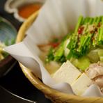 水音 ごま味噌もつ鍋(2人前からの注文)