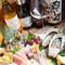ふらっと一人で 生牡蠣×日本酒