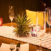 【森の中のレストラン】間接照明が演出する大人のダイナー♪