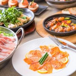 タパス8種盛り合わせ付き♪美味しいイタリアンを少しずつ楽しむ!チーズたっぷりカジュアル女子会コース☆