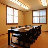 テーブル席の和個室が利用できるので、周りを気にせず楽しめます