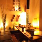 装飾と照明のセンスの良さは出色。