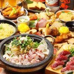 博多の王道名物料理を楽しむ宴会!