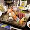 新鮮なお刺身と、天ぷらまで一緒に味わえる『お刺身定食』