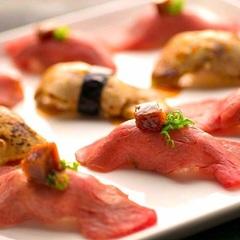 7種の黒毛和牛 肉寿司をご堪能頂けます! ※2名様から要予約
