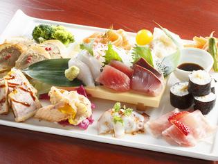 三陸産の魚介や地元・岩手の新鮮な食材を使用
