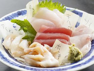 野菜も魚も地のものが中心