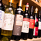 ワインが豊富。名物の『水炊』と相性ぴったりの銘柄が揃います