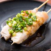 新鮮な鶏肉を絶妙な焼き加減で仕上げられた『ささみシギ焼』