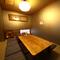 落ち着いた雰囲気の個室