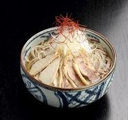 山形県優良品種に登録された蕎麦粉を使用『肉そば』