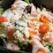 海老とスモークサーモンのサラダ