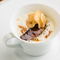 『菊芋のクリームスープ』名取の自家菜園で育てた菊芋を使用