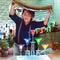 メッセージを書き込めるケーキプレート
