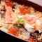季節の海鮮を使った彩り鮮やかな料理に舌鼓