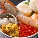 おすすめメニュー 海鮮丼(松)