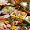 『鯛の姿造り付』10名以上の団体様向け豪華食材飲み放題込パック
