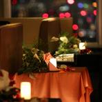 料理だけではなく、ドリンク類も充実。ワインをはじめ、シャンパンやカクテルなどいろいろな種類のお酒を揃えてあります。東京の夜景を眺めながらの食事のお供に、または食後にじっくりとグラスを傾けてはいかが。