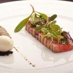 KEISUKE MATSUSHIMAの料理をフルコースで楽しむディナーメニュー