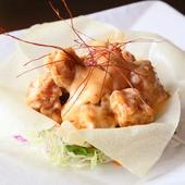 盛付けがおしゃれな『鶏のスィートチリマヨ』