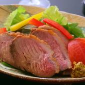 鴨の旨みを堪能できる、深い味わいが魅力の『合鴨のロース煮』