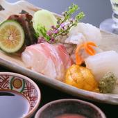 その日一番の良質な鮮魚を使った『お造り盛り合わせ』