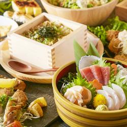 定番!2時間飲み放題付き♪季節食材を使用したお試し宴会コースです。
