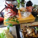 三重県の豊かな食材を、たっぷり味わえます