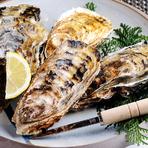 栄養豊富な海で育つからこそジューシーな味わいの「浦村カキ」