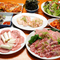 韓国料理から焼肉まで楽しめる『サムギョブサルコース』