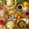 オリジナル料理が味わえるカジュアルコース。飲み会や宴会にもオススメとなっております!