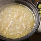 コラーゲンたっぷりの白濁スープが絶品『新三浦流水炊き』