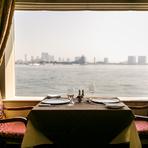 東京湾を船上で過ごす「特別なヒトトキ」を